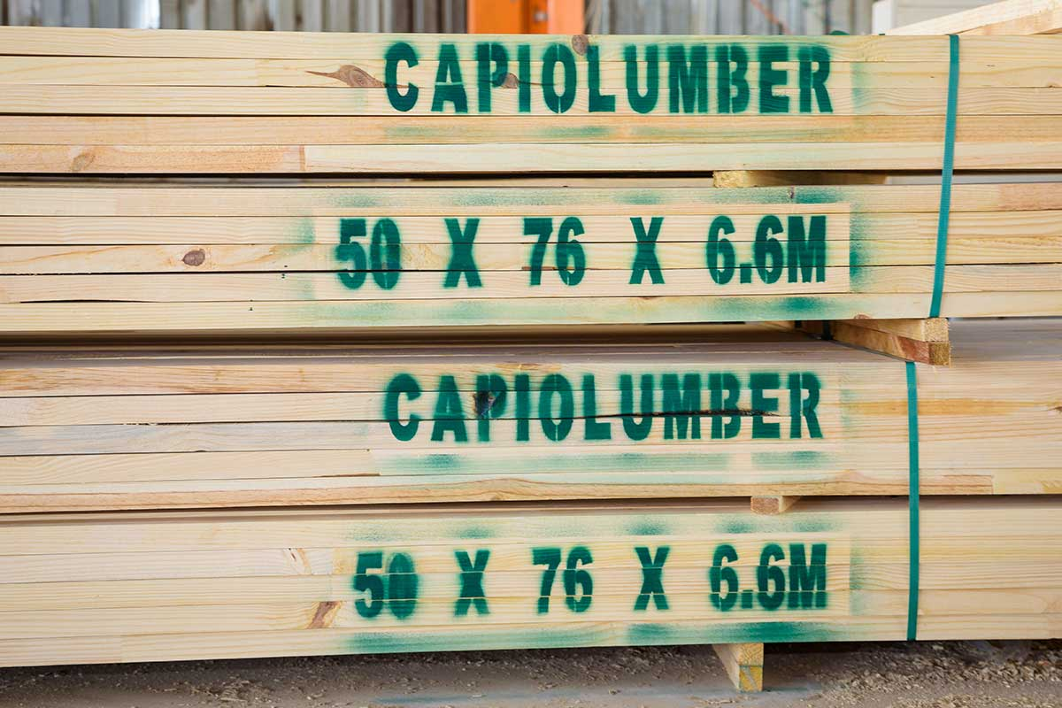 Capio Lumber Furniture Grade Timber